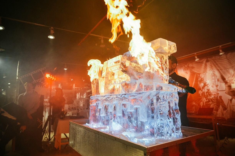 Ледовое шоу на юбилей